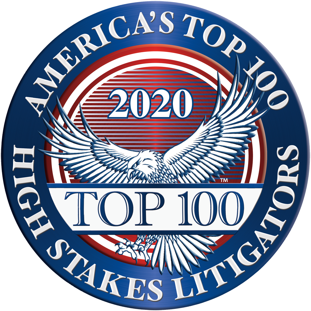 Top 100 High Stakes Litigator